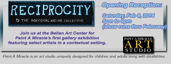 Paint A Miracle - Group Art Show at the Belian Art Center in Troy, Michigan